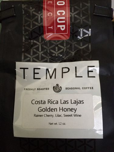 Review: Temple Costa Rica Las Lajas Golden Honey (Sacramento, California)