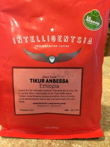 Review: Intelligentsia Ethiopia Tikur Anbessa (Chicago, Illinois)