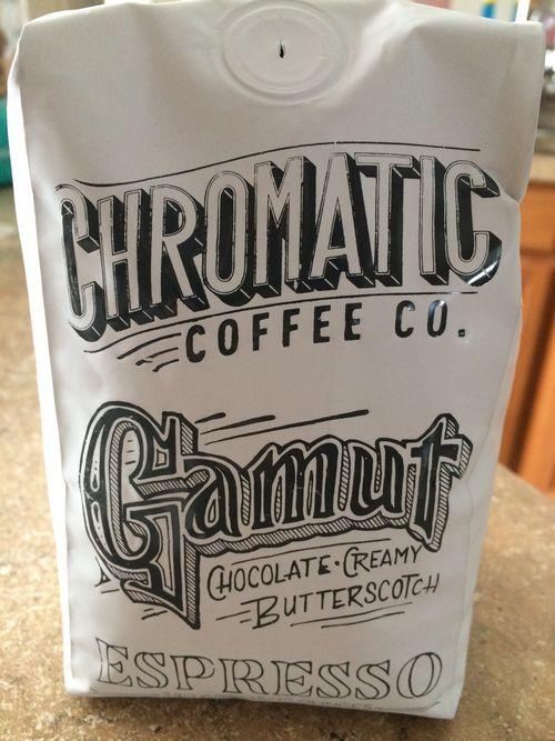 Review: Chromatic Coffee Gamut Espresso (San Jose, California)