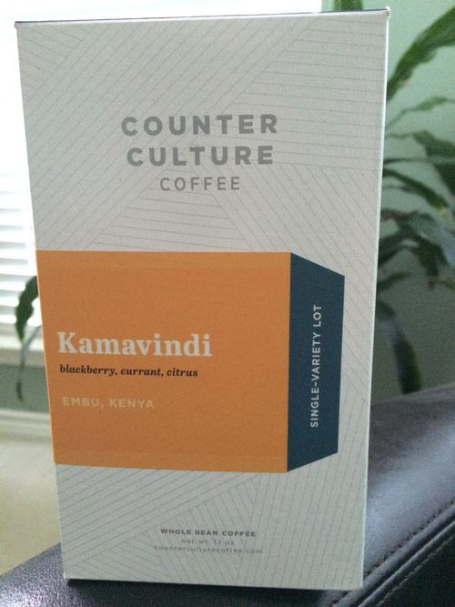 Review: Counter Culture Kenya Kamavindi (Durham, North Carolina)