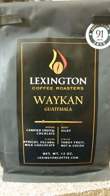 Review: Lexington Coffee Roasters Guatemala Waykan (Lexington, Virginia)