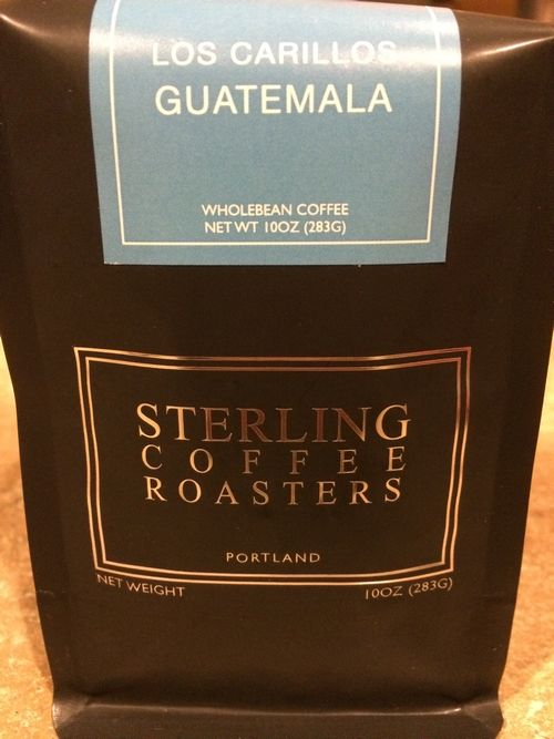 Review: Sterling Coffee Roasters Guatemala Los Carillos (Portland, Oregon)