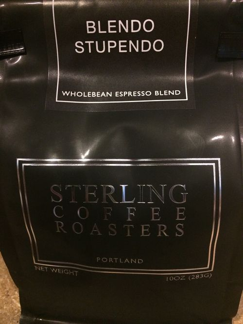 Review: Sterling Coffee Roasters Blendo Stupendo Espresso Blend (Portland, Oregon)