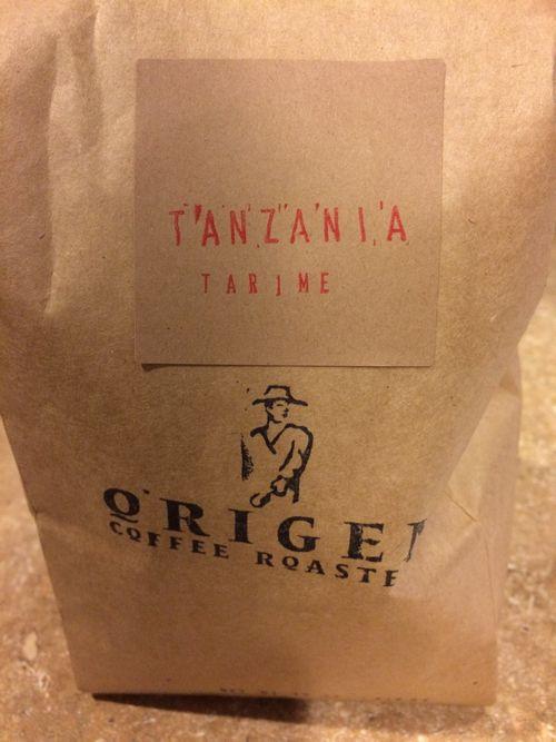 Review: Origen Coffee Roasters Tanzania Tarime (Escondido, California)