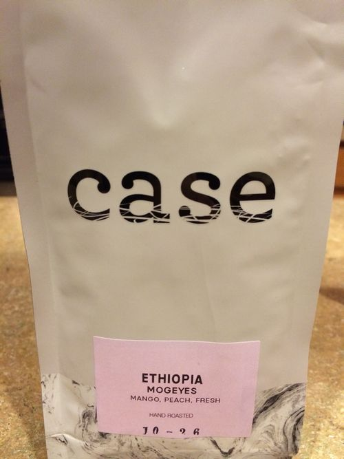 Review: Case Coffee Roasters Ethiopia Mogeyes (Ashland, Oregon)