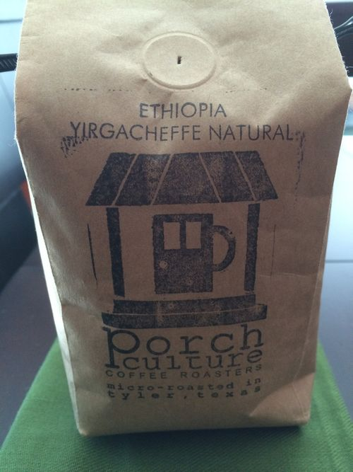 Review: Porch Culture Ethiopia Yirgacheffe Natural (Tyler, Texas)