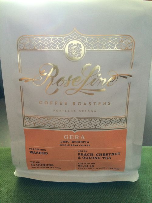 Review: Roseline Coffee Roasters Ethiopia Gera (Portland, Oregon)