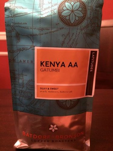 Review: Batdorf and Bronson Kenya AA Gatumbi (Atlanta, Georgia)