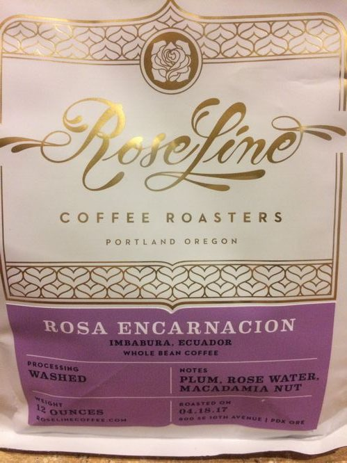 Review: Roseline Coffee Ecuador Rosa Encarnacion (Portland, Oregon)
