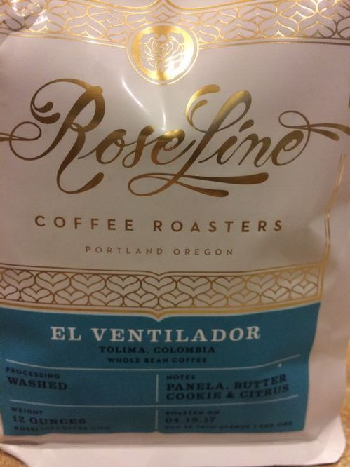 Review: Roseline Coffee Colombia El Ventilador (Portland, Oregon)