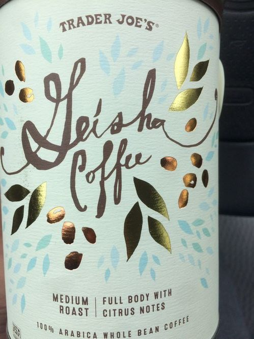 Review: Trader Joe's Colombia Geisha (Monrovia, California)