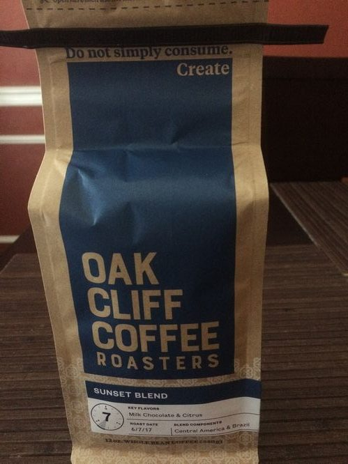 Review: Oak Cliff Coffee Roasters Sunset Blend (Dallas, Texas)