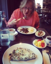 Mothers Day Breakfast.....Not impressed, BUT the company was excellent !