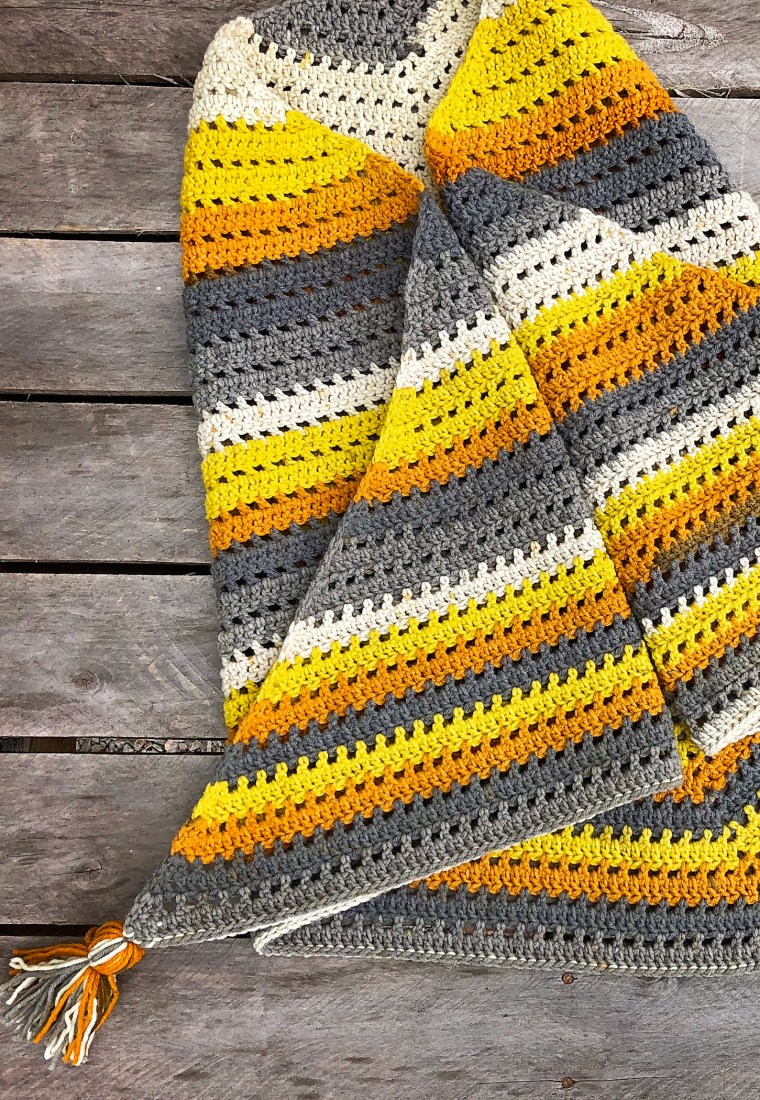 Crochet Wishing Well Wrap Pattern by Sewrella My Review