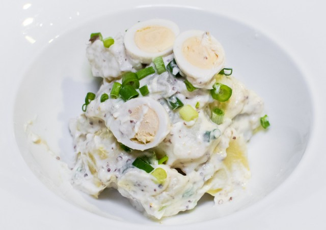 STREET 50 Egg Buffet—Potato Salad with Pommery Mayonnaise
