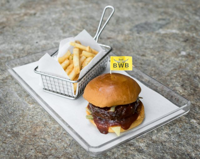 Orchard Central - BWB - Handpressed Burger with Cheese