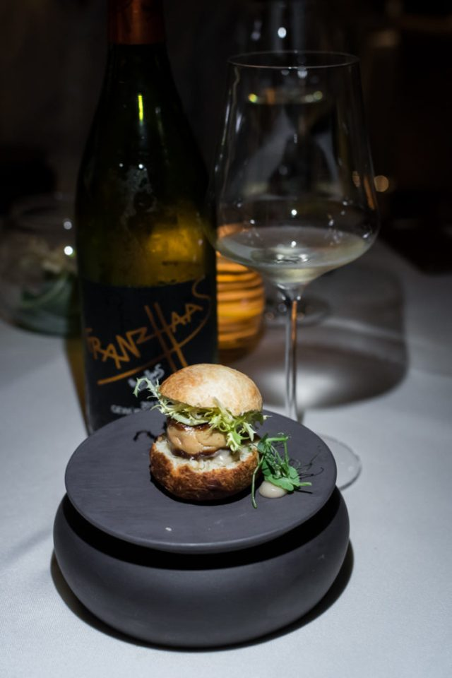 Stellar at 1-Altitude: Kokumi Constellation — Foie Gras burger