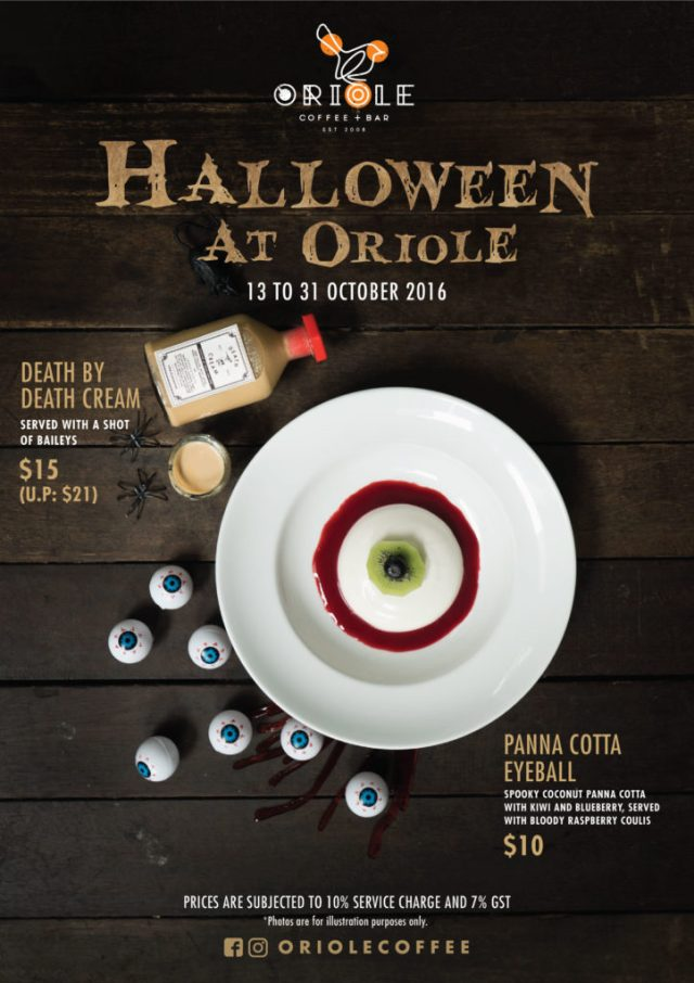 Oriole Coffee + Bar Halloween 2016