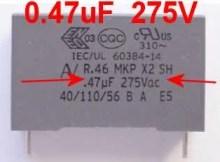 Condensateur de remplacement machine et cafetière senseo
