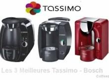 les3 meilleures machines capuccino et boisson gourmande marque bosh tassimo