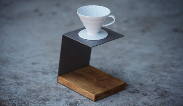 Single Pour-Over Coffee Stand as Gift for Coffee lovers