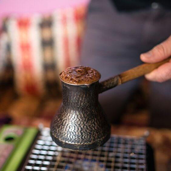 Turkish Coffee Brewing Method
