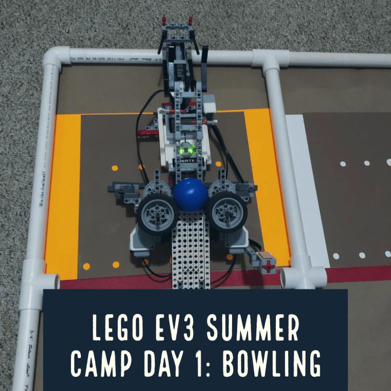LEGO EV3 Summer Robotics Camp – Day 1 Bowling   Coffee For The Brain