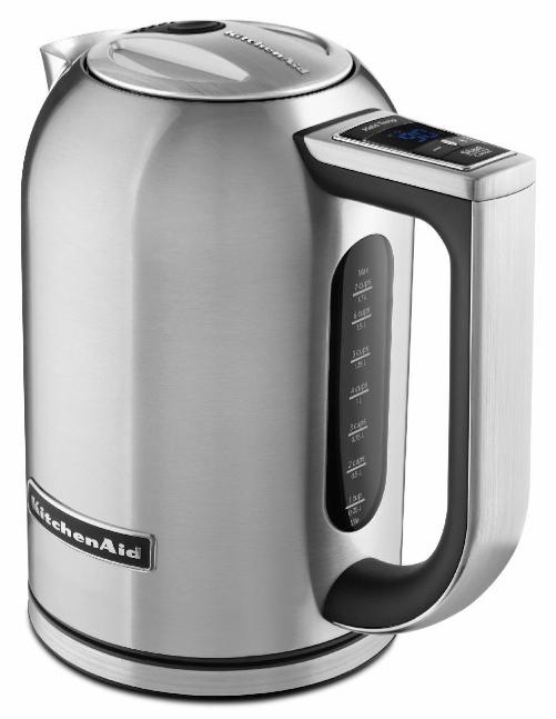 Kitchenaid Stainless Steel Digital Display Electric Variable Temperature Water Kettle KEK1722SX