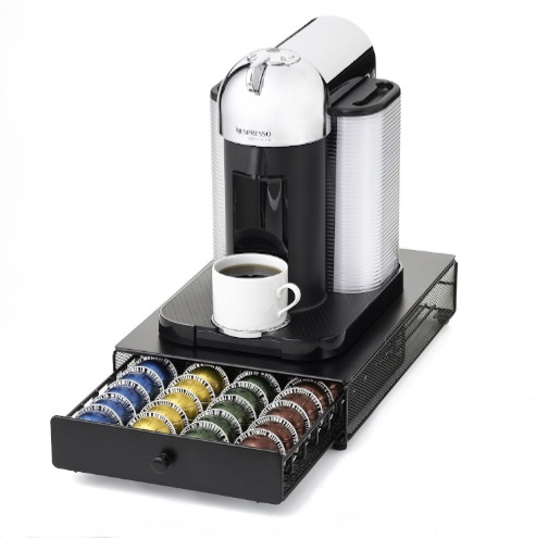 Best Holders and Storage Units to Organize Your Nespresso Capsules