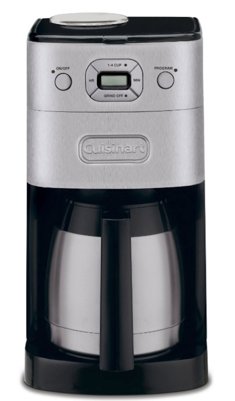 Cuisinart Grind And Brew 12 Cup Automatic Coffee Maker Fully Programmable