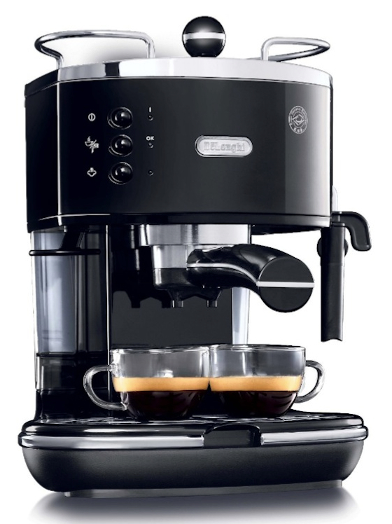 DeLonghi ECO310BK 15-Bar-Pump Espresso Machine