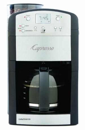 Capresso Coffee Team Gs
