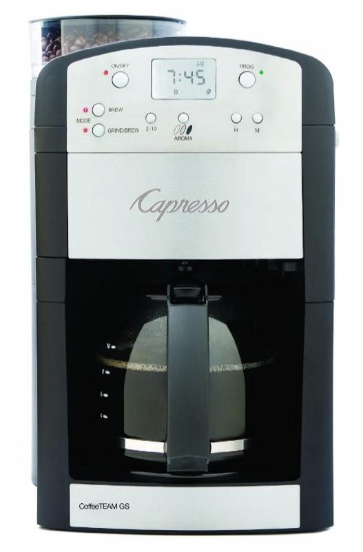 Capresso Coffeeteam Gs  Cup Coffee Maker