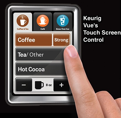 Keurig Vue V700 Brewing System Touchscreen