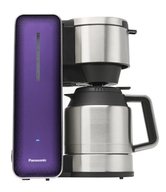 "Panasonic ""Breakfast Collection"" NC-ZF1H 8-Cup Stainless Steel Coffee Maker_1"