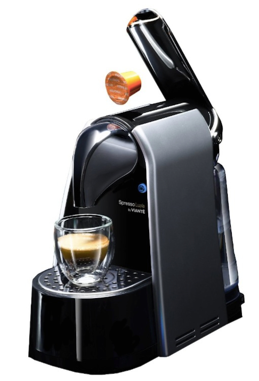 SpressoLuxe CAF-SP5 Single Serve Espresso Capsule Brewer