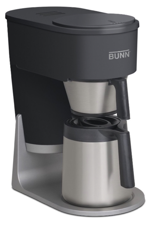 Bunn Velocity Brew 10 Cup Home Coffee Brewer Drip Maker Black Stainless Steel