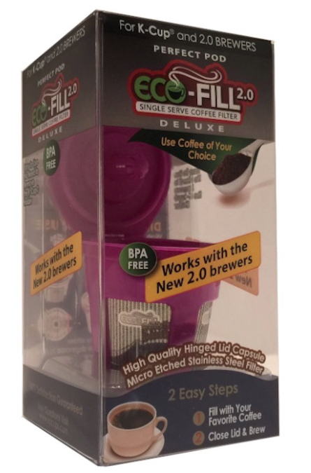 ecofill 20 deluxe for keurig 20 - Keurig Coffee Pods