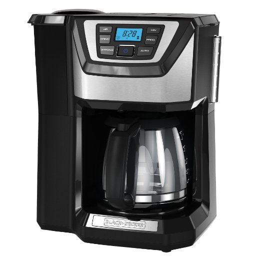 Black and Decker CM5000B 12-Cup Mill and Brew Coffeemaker