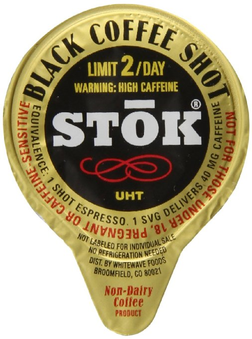 SToK Caffeinated Black Coffee Shots