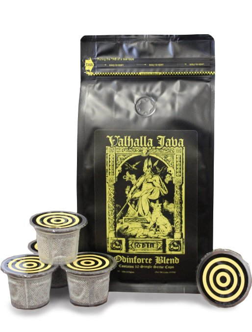 Valhalla Java Single Serve Capsules for Keurig K-Cup Brewers