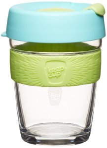 KeepCup 12-Ounce Brew Glass Reusable Coffee Cup