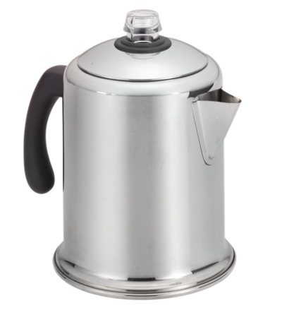 Farberware Classic Stainless Steel Yosemite 8-Cup Coffee Percolator