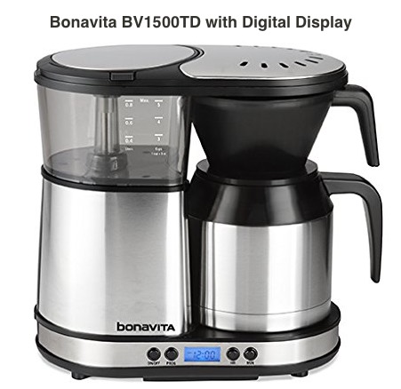 Bonavita BV1500TD 5-Cup Carafe Coffee Brewer