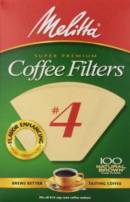 Melitta No. 4 Cone Coffee Filters