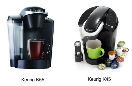 Keurig K55 vs K45
