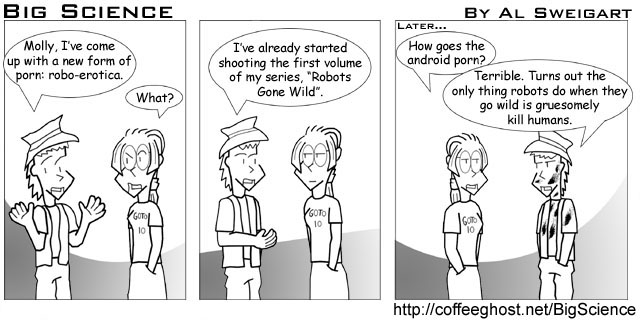 Coffeeghost » Blog Archive » Big Science Comic