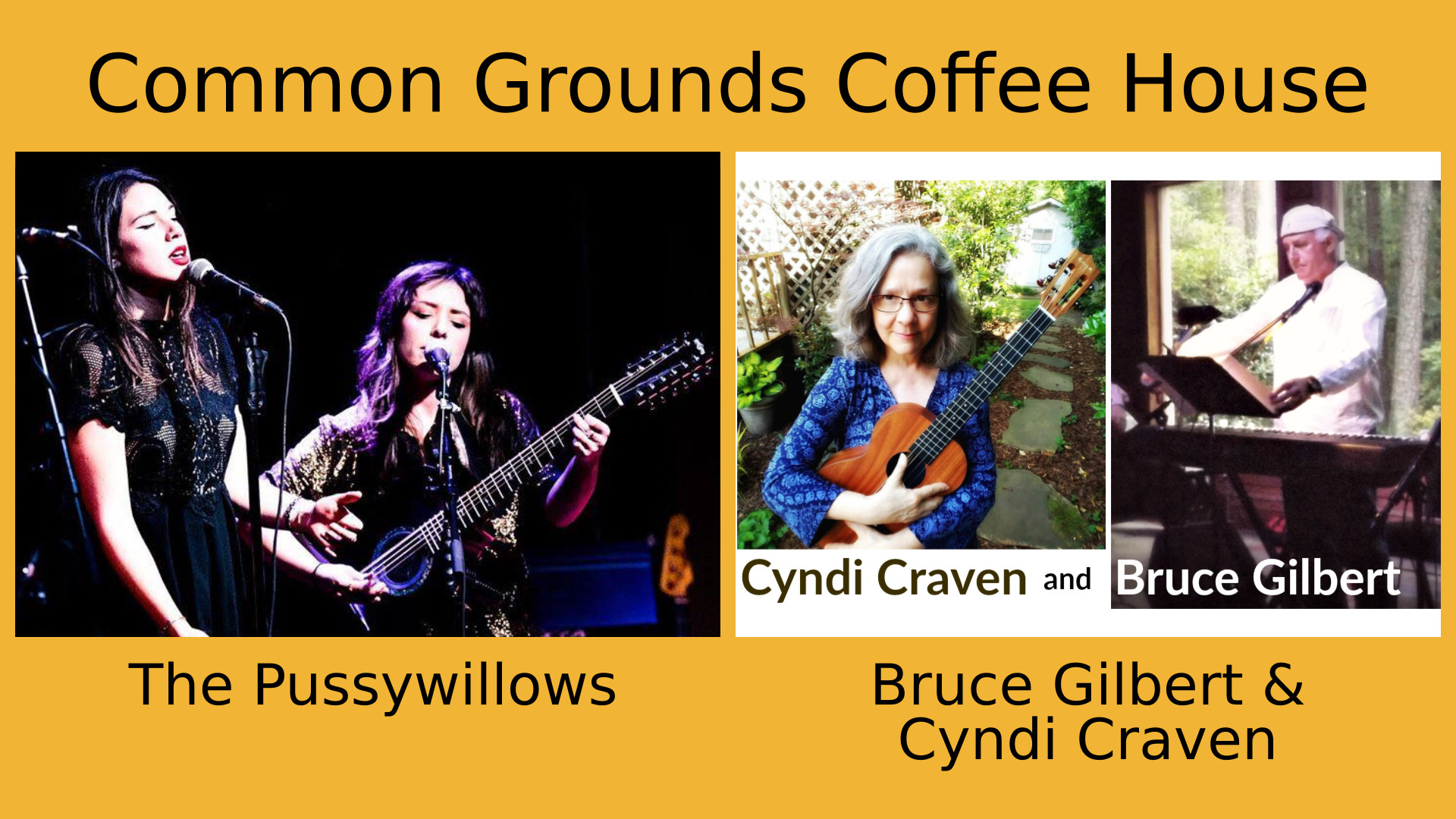 The Pussywillows | Bruce Gilbert & Cyndi Craven