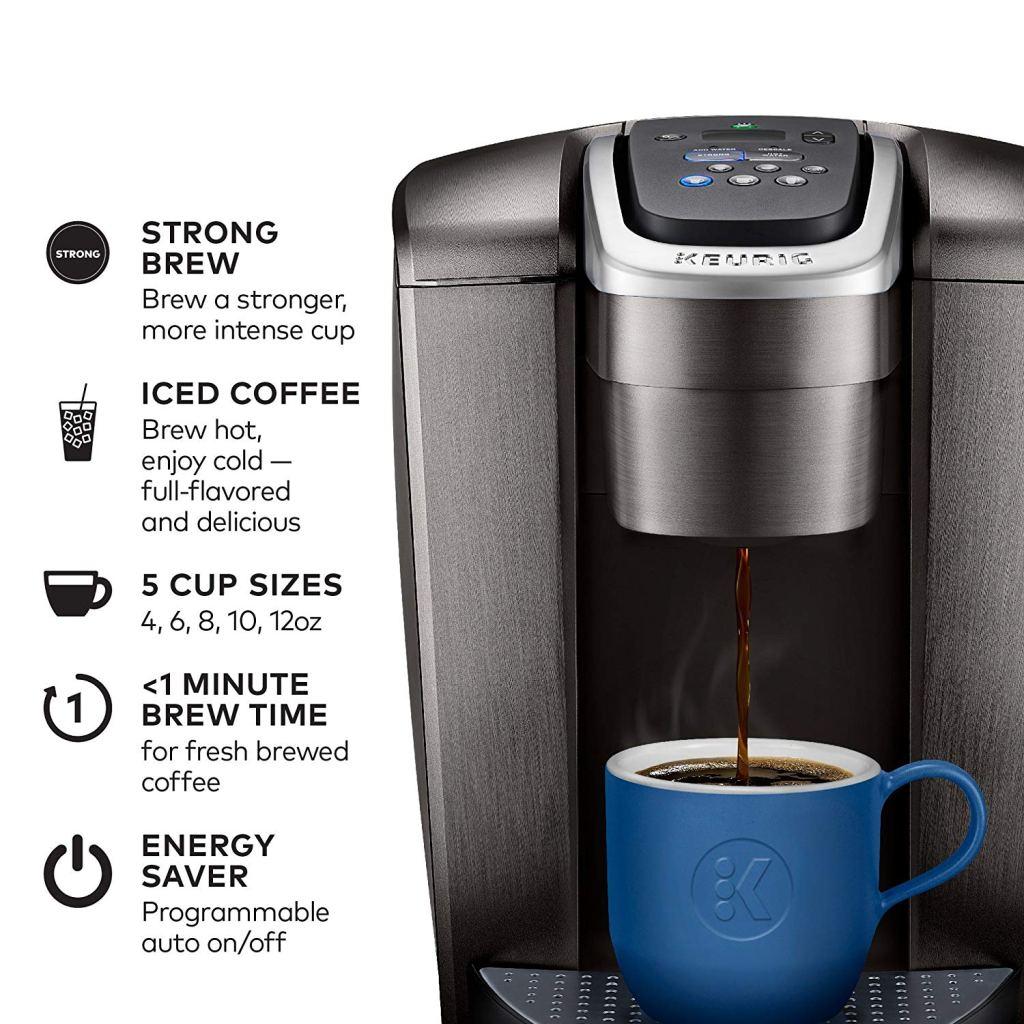 Keurig E-Lite Single Serve Coffee Maker Info