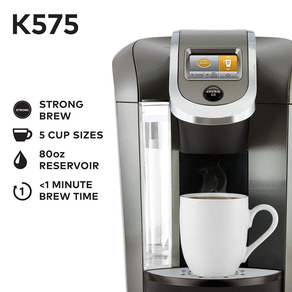Keurig K575 Single Serve. Infojpg